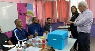 مدير عام وزارة الداخلية في الطيبة لتفقد الانتخابات