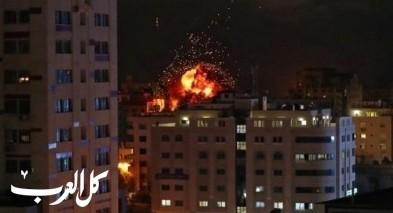 غزة: اسرائيل تقصف مواقع للمقاومة