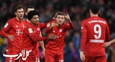 بايرن ميونيخ يهدر فرصة تصدر الدوري الألماني بالخسارة
