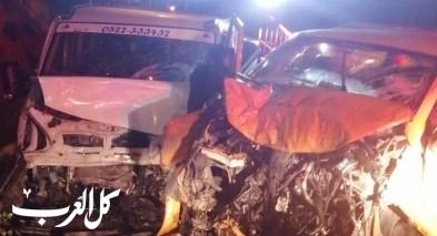 6 إصابات إثر حادث طرق على شارع 60