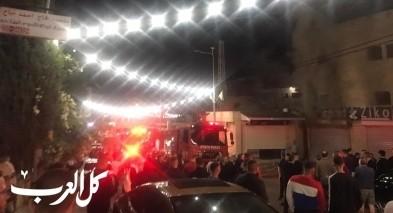 دير الأسد: اندلاع النيران بمحل تجاري دون اصابات
