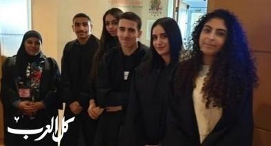 عكا:طلاب مدرسة أورط يشتركون في يوم تعليمي بمحكمة العدل