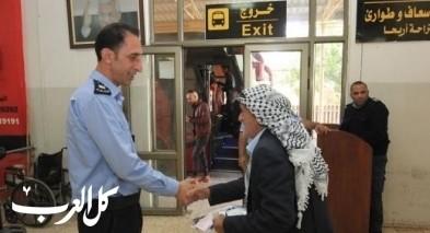 الشرطة الفلسطينية : 147 الف مسافر تنقلوا عبر الكرامة