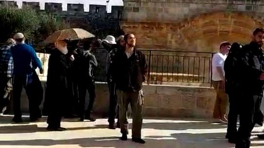 المستوطنون يقتحمون المسجد الأقصى وسط حالة استنكار