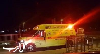 كفركنا: إصابة شاب إثر سقوطه في بئر شيد