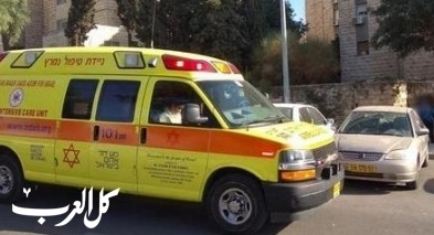 القدس: إصابة خطيرة لشاب بحادث