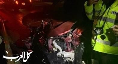 إصابتان بحادث طرق قرب الزرازير