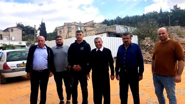 المجلس الأقليمي بستان المرج يقوم بأعمال ترميم