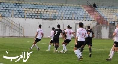 انتهاء المباراة بين هبوعيل باقة الغربية ونادي شبيرا