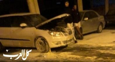 دير حنا: إحراق سيارة شاب دون إصابات والشرطة تحقق