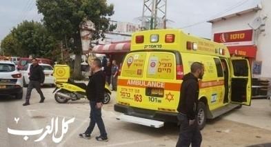 تل أبيب: إصابة شاب إثر سقوطه عن سلم