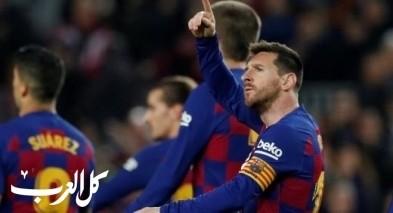 ميسي يقود برشلونة لسحق ضيفه ريال مايوركا
