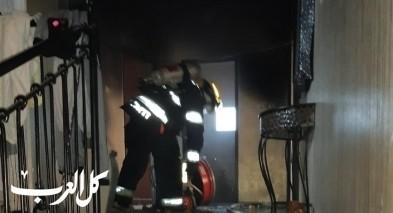 باقة: مدفأة اسلاك تتسبب بحريق بمنزل