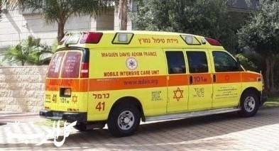 اللقية: إصابة طفل (عام ونصف) بجراح بسبب سيارة خردة