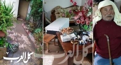 عرابة: غرق منزل العريطي بمياه الصرف الصحي