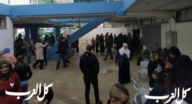 افتتاح صناديق الإقتراع في باقة الغربية