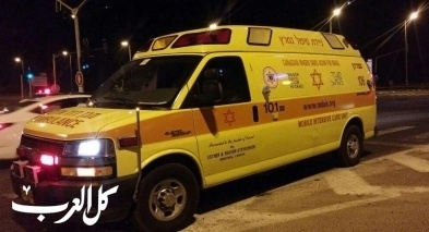 اصابة شاب بجراح خطيرة بعد تعرضه للدهس في الجولان