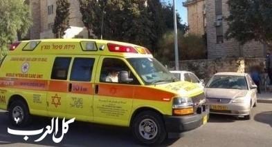 القدس: إنقلاب جرافة قرب جفعات زئيف وإصابة رجل
