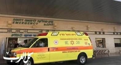 نتانيا:اصابة مسن إثر سقوطه عن سلم الدرج بمركز تجاري