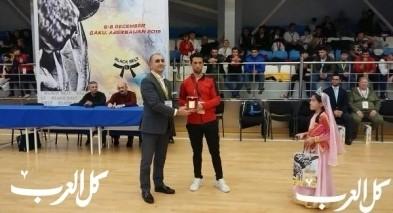 مشاركة ناجحة لطلاب كراتيه شفاعمريين في بطولة دولية