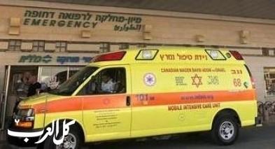 اصابة رجل إثر انقلاب سيارة قرب مفرق عين زيتيم