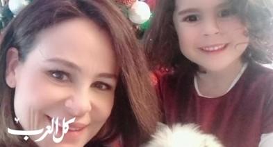 كارول سماحة وابنتها تستقبلان الميلاد المجيد