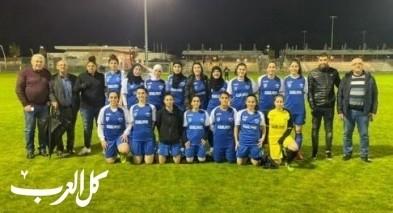 فوز ثالث لفريق نساء عرابة لكرة القدم