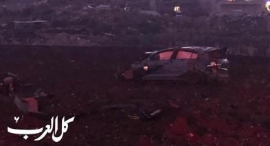 اصابة شابين في حادث طرق مروع قرب اعبلين