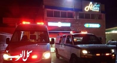 جديدة المكر: اصابة رجل بجراح خطيرة بحادث طرق