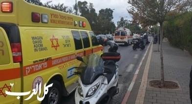 الزرازير: اصابة فتى بانزلاق دراجة هوائية