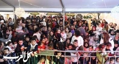 افتتاح البازار الميلادي في يافة الناصرة