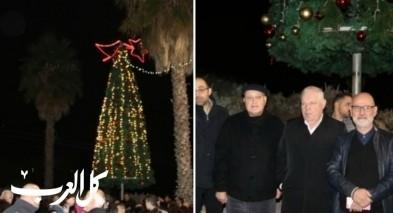 نوف هجليل: اضاءة شجرة عيد الميلاد بأجواء مميزة