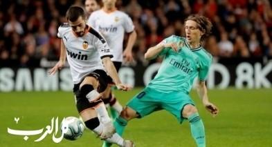 بنزيما ينقذ ريال مدريد من الخسارة أمام فالنسيا
