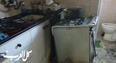اندلاع حريق بشقة سكنية في حيفا