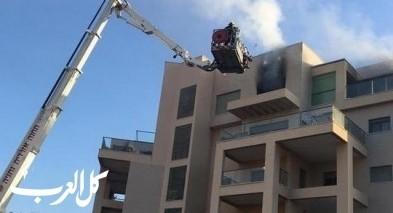 المركز: إندلاع حريق بشقة سكنية في كفار يونا