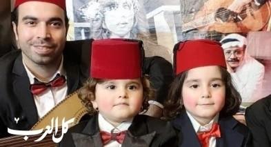 فيديو: عازف عود سوري وابنتاه يشعلون المواقع