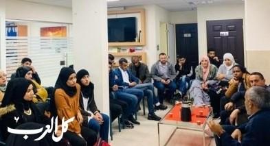 لقاء شهري يجمع العشرات من الشباب برئيس بلدية رهط