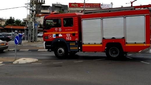 دبورية: إندلاع النيران بشاحنة دون اصابات