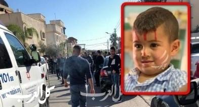 كفربرا: مصرع الطفل محمد اياس ريان (3 سنوات)