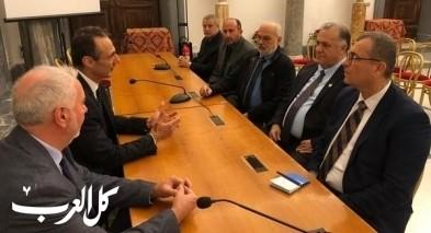 سلام يلتقي برئيس البرلمان البلدي لروما