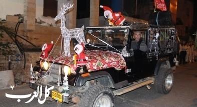 ديرحنا: مشاركة واسعة بمسيرة الميلاد وإضاءة الشجرة