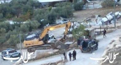 هدم بيتين في جبل المكبر بحجة البناء غير المرخص
