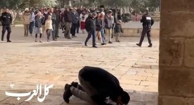 مئات المستوطنين اقتحموا المسجد الأقصى