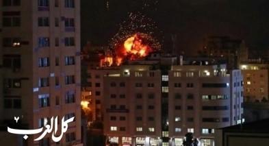 مصادر: الجيش الاسرائيلي يقصف عدة مواقع في غزة