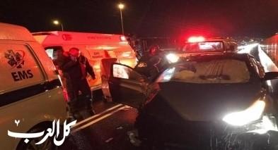 اصابة 3 اشخاص بحادث طرق قرب طرعان