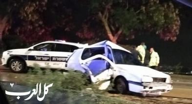 إصابة خطيرة جرّاء حادث في نوف هجليل