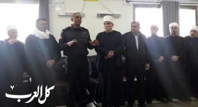 قائد سلطة الاطفاء والانقاذ يقدّم التعازي لعائلة أبو جنب