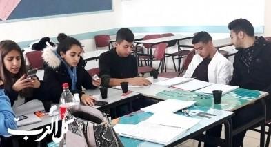 مجد الكروم: مدرسة الشاغور الثانوية تحتضن مخيم دوكاتوس