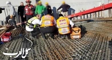 مصرع عامل ورشة بناء في كريات جات