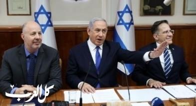 الكابينت الاسرائيلي يقر بخصم 150 مليون شيكل